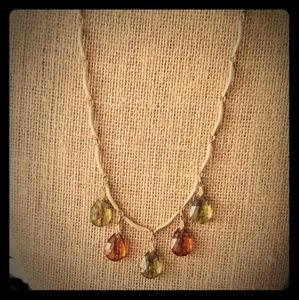 Vintage Sarah Coventry Teardrop Necklace
